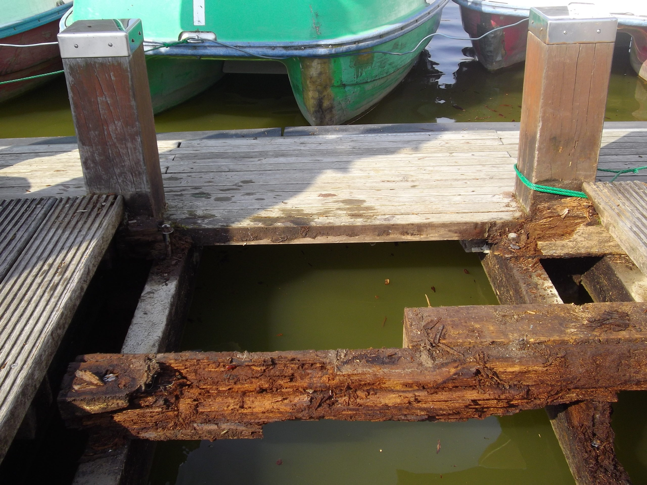 ボート乗り場