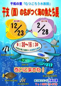 干支の名前の魚展